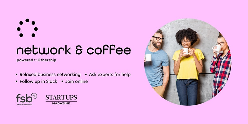 Network & Coffee Banner Image