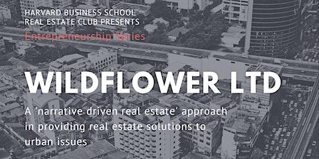 Entrepreneurship Series: Wildflower Ltd tickets