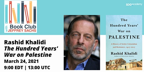 Book Club with Jeffrey Sachs -Rashid Khalidi tickets