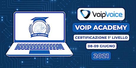 Corso di Certificazione Primo Livello VoipVoice biglietti