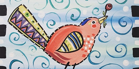 Paint Along - Birds of a Feather! tickets
