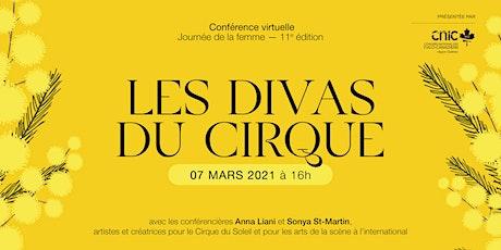 LES DIVAS DU CIRQUE | Conférence virtuelle billets