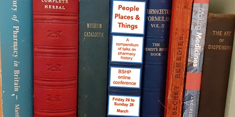 BSHP Conference 2: Reflecting on Pharmacy History Through Material Culture tickets