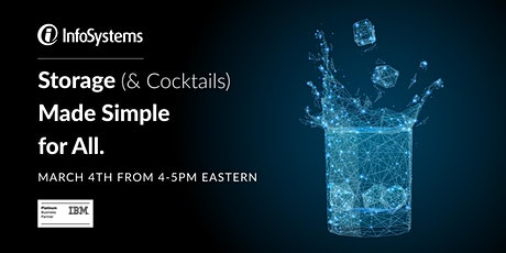 Storage (& Cocktails) Made Simple for All. tickets
