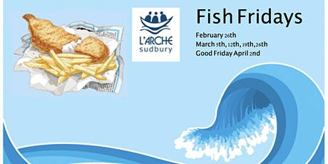 L'Arche Sudbury Fish Fridays tickets
