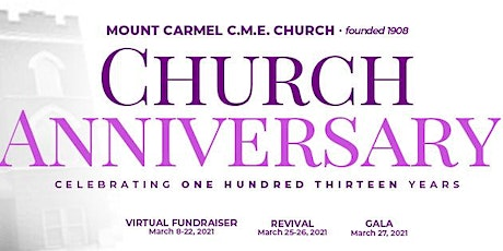 113th Church Anniversary Gala tickets