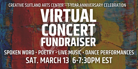 Virtual Concert Fundraiser: Empty Spaces, Creative Places tickets