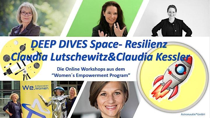 """Deep Dive Space - """"Find your inner Astronaut"""" mit Claudia Lutschewitz: Bild"""