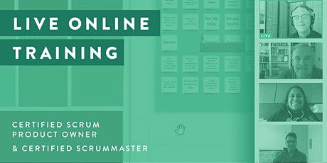 CERTIFIED SCRUM PRODUCT OWNER TRAINING (LIVE ONLINE TRAINING) tickets