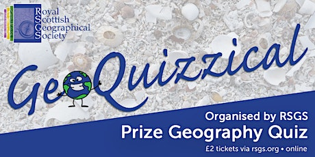 GeoQuizzical (RSGS March Quiz) tickets