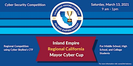 Inland Empire California Mayors Cyber Cup Game Registration tickets