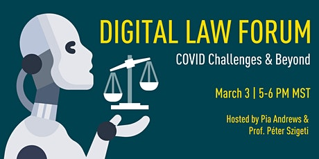 Digital Law Forum: AI, Law & Governance Challenges in Focus tickets