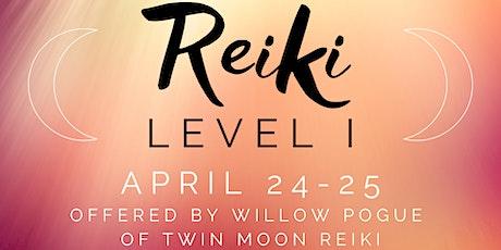Reiki Level I Training tickets
