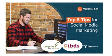 Top 5 Tips: Marketing Your Business On Social Media March 19 tickets