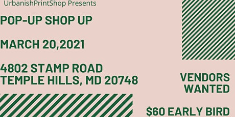 March 20th Pop- Up Shop tickets
