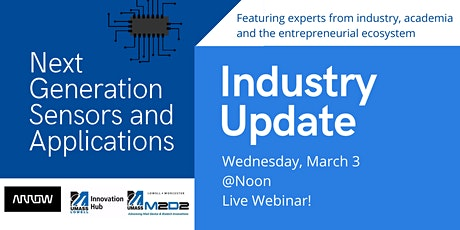 Industry Update – Next Generation Sensors and Applications tickets