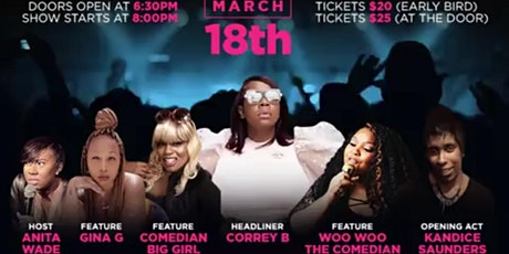 LADIES NIGHT OUT 2 - CORREY B. LIVE tickets