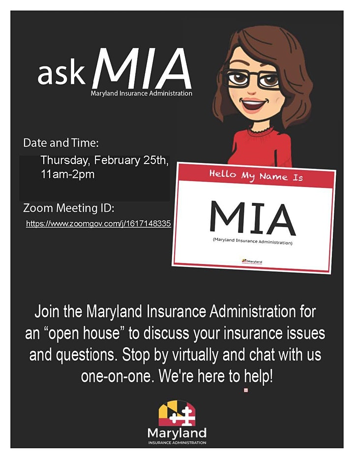 Maryland Insurance Administration Open House image
