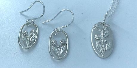Make a Silver Flower Taliswoman Pendant & Earrings Set tickets