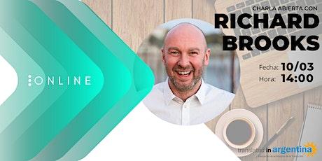 Charla abierta con Richard Brooks entradas