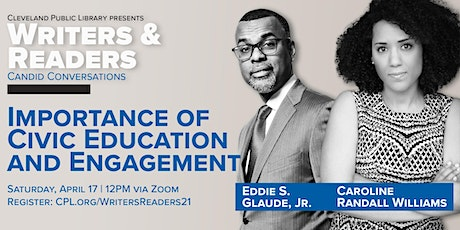 Writers & Readers Presents: Eddie Glaude, Jr. &  Caroline Randall Williams tickets
