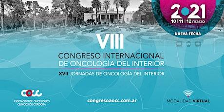 VIII Congreso Internacional de Oncología del Interior entradas