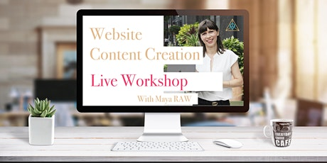 Website Copywriting Live Workshop With Maya RAW biljetter