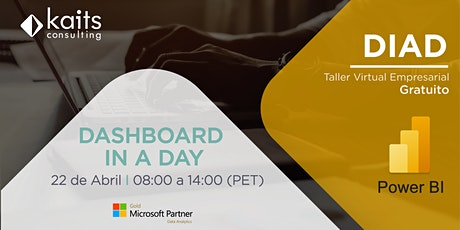 Dashboard in a Day with Power BI por Kaits Consulting Group - 22/04/21 entradas