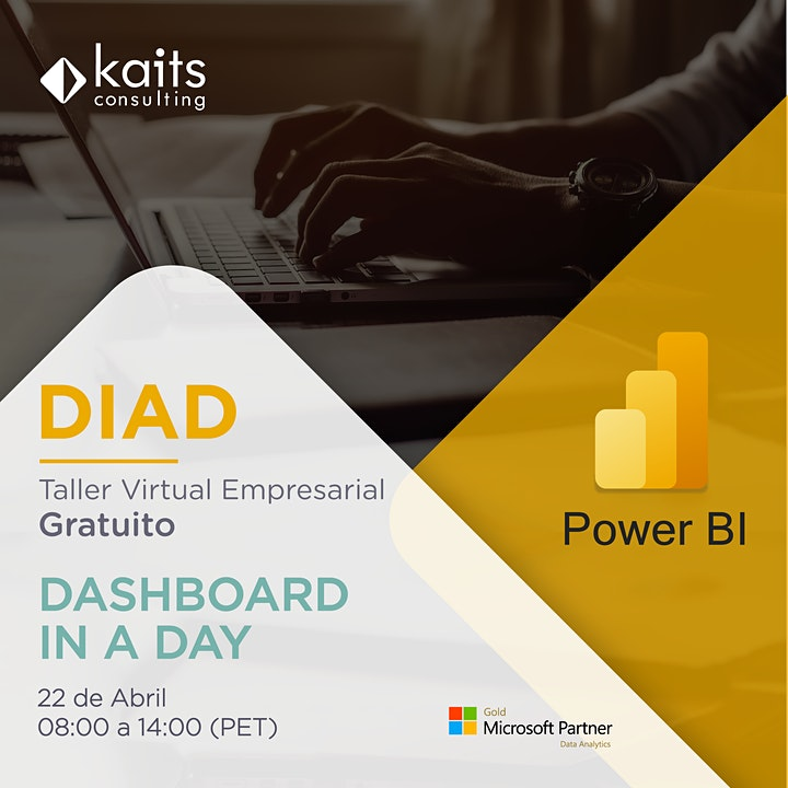Imagen de Dashboard in a Day with Power BI por Kaits Consulting Group - 22/04/21