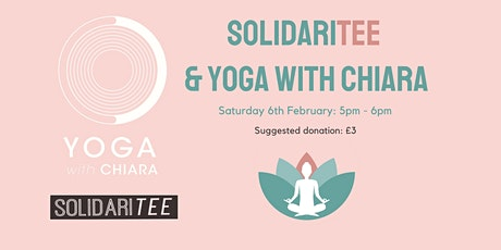 Yoga with Chiara X SolidariTee Evening Yoga Tickets