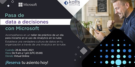 Analytics in a Day por Kaits Consulting Group  - 28/04/21 entradas