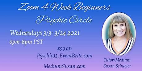 Susan's 4 Week Beginner Psychic Development Circle tickets