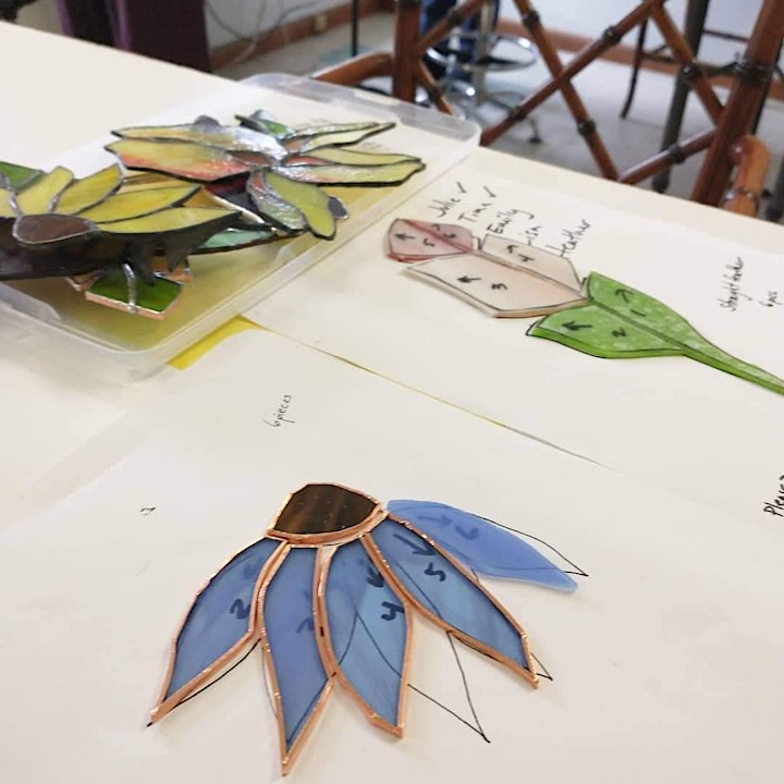 Gardens in Glass: Introduction to Stained Glass image