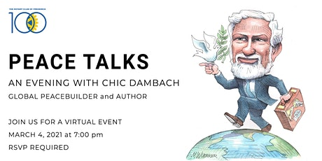 Peace Talks 2021: An Evening with Chic Dambach tickets