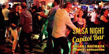Salsa Night! Salsa, Bachata, Reggaeton Party at Capitol Bar 03/06 tickets