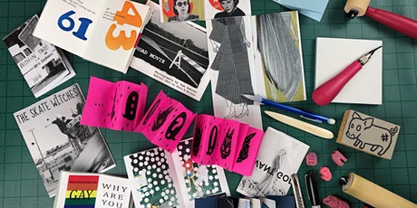 Zines with Relief Prints and Stamps tickets