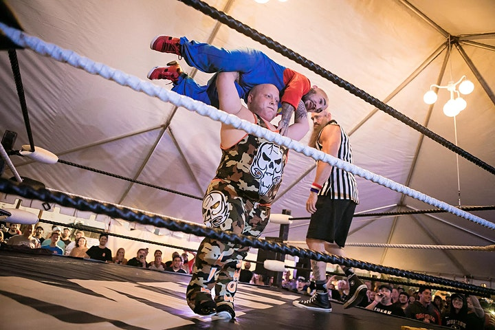 Knee High Knuckle Busters Micro Wrestling image