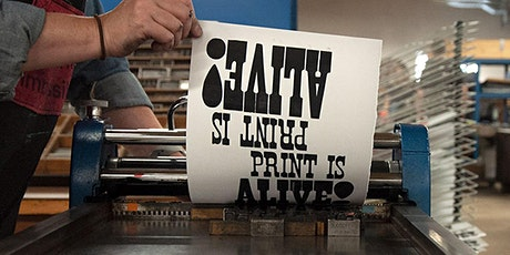 Slinging Ink, Part 2: Preserving Type History in the Midwest tickets