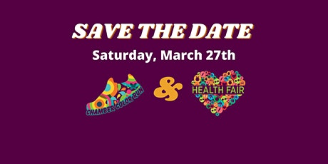 Chamber Color Run and Health Fair 2021 tickets