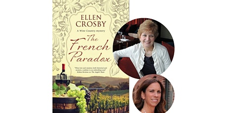 Book launch with Ellen Crosby for THE FRENCH PARADOX tickets