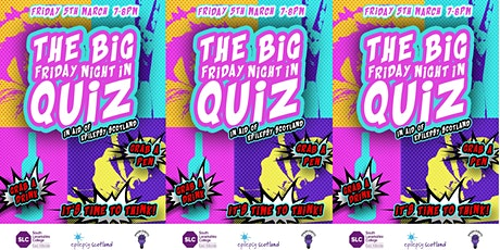 The Big Friday Night In Quiz tickets