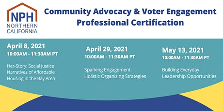 NPH Community Advocacy & Voter Engagement (CAVE)Professional Certification tickets