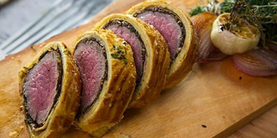 Beef Wellington and Beef Carpaccio Cooking Class