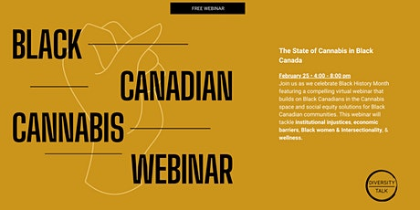 Black Canadian Cannabis Webinar tickets