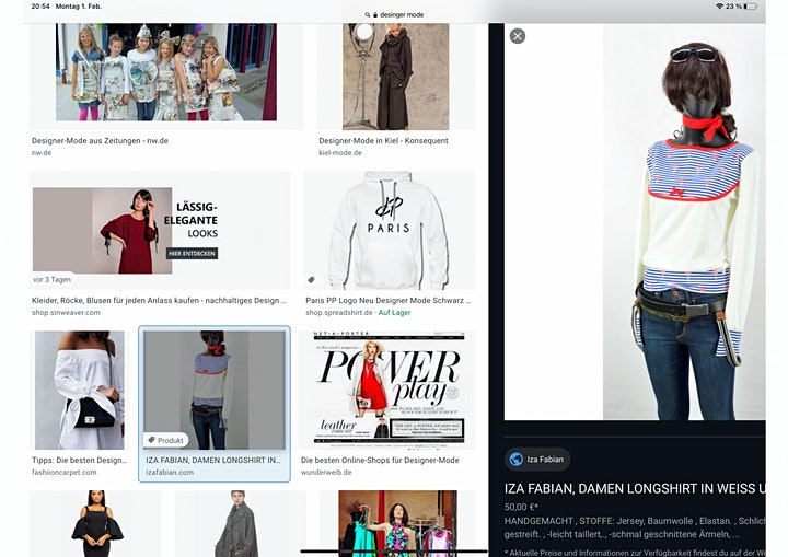 Kreatives Portrait  Doppelkurs - Live ZOOM Onlinekurs - Kreativ zu Hause: Bild