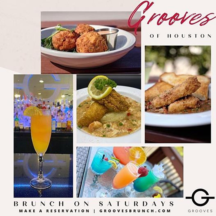 Grooves' Saturday Brunch + Day Vibes | Brunch 11am-5pm | Happy Hr 12pm-5pm image