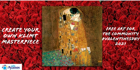 Valentine's Day Special - Gustav Klimt Fine Art Webinar for kids & families tickets