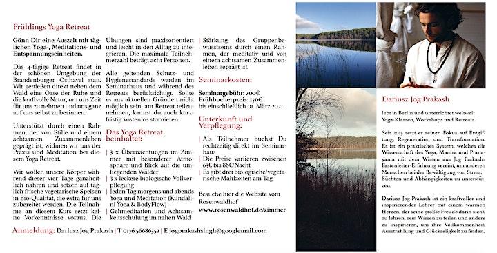 Frühlings Yoga Retreat  im Rosenwaldhof (Brandenburg): Bild