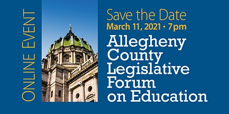 Allegheny County Legislative Forum on Education tickets
