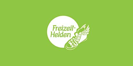 Freizeit-Helden: Helden-Runde (Online) Tickets